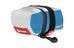 Cube Teamline Multi XS Satteltasche weiß/blau